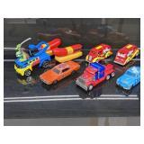 (8 ) Skilltes Oscar Meyer & Ninja Turtles Cars