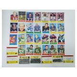 1964 Philadelphia Football 34 Different Cards