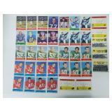 1964 Philadelphia Football 39 Cards w/ Duplicates