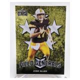 2018 Leaf Draft Field Generals Josh Allen #FG-03