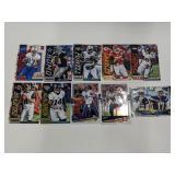 (10) Football Cards