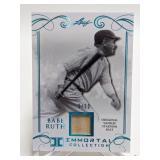 5/50 2017 Leaf Immortal Babe Ruth Relic #YS-40