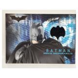 Topps Batman Begins Batmans Cape Relic