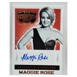2014 Panini Country Music Maggie Rose Relic