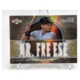 3/27 2013 Topps Triple Threads David Freese Relic