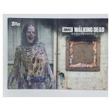 """2017 Topps Walking Dead """"Walker"""" Relic"""