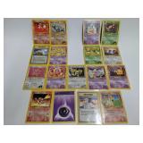 2000 Pokemon Gym Heroes/Gym Challenge 17 Card Lot