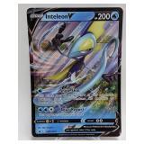 2020 Pokemon Inteleon V Jumbo Holo Promo