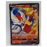 2020 Pokemon Cinderace V Jumbo Holo Promo