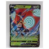 2020 Pokemon Orbeetle V Jumbo Holo Promo