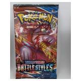 2021 Pokemon Sword & Shield Battle Styles Pack