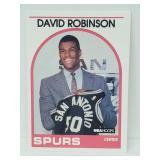 1989 NBA Hoops David Robinson RC #138