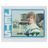 1972 Topps John Riggins RC #13