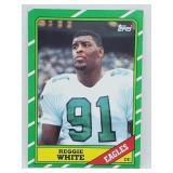 1986 Topps Reggie White RC #275