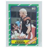 1986 Topps Boomer Esiason RC #255