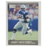 1991 Fleer Ultra Emmitt Smith RC #165