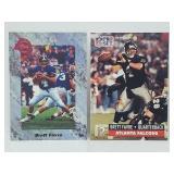 Two 1991 Brett Favre Rookie Cards