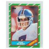 1986 Topps John Elway RC #112
