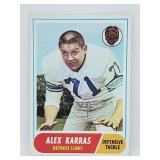 1968 Topps Alex Karras RC #130