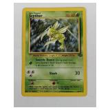 1999 Pokemon Scyther Jungle Non Holo Rare 26/64