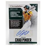 2017 Chronicles Chad Pinder AUTO #CA-CP