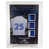 31/35 20220 Leaf Career Day Carlos Delgado Relic