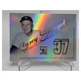 2001 Topps Tribute Casey Stengel Relic #RJ-CS