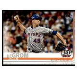 Jacob DeGrom Baseball Card