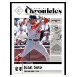 Juan Soto Baseball Card