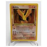 1999 Pokemon Moltres Fossil 1st Edition Holo 12/62