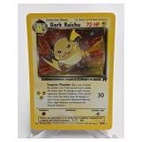 1999-2000 Pokemon Dark Raichu Rocket Holo Rare #83