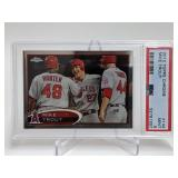 2012 Topps Chrome Mike Trout #144 PSA 9