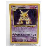 1998 Pokemon Alakazam Rare Holo 1/102