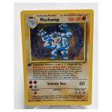 1999 Pokemon Machamp 1st Edition Rare Holo 8/102
