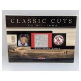 2002 Fleer Classic Cuts Ted Williams Relic #TW-P