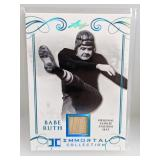 5/50 2017 Leaf Immortal Coll. Babe Ruth Relic
