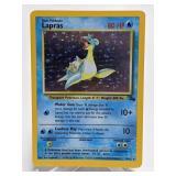 1999 Pokemon Lapras Rare Holo Fossil 10/62