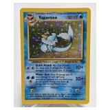 1999 Pokemon Vaporeon Rare Holo Jungle 12/64