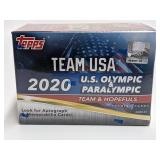 2020 Topps Team USA Olympic/Paralympic Booster Box