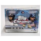 2021 Topps Chrome Baseball Booster Box