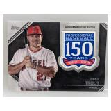 2019 Topps Mike Trout Comm. Patch #AMP-MT