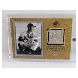 2001 SP Legendary Cuts Tommy Holmes Relic #J-Tho
