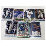(7) Vladimir Guerrero Jr. RC Baseball Rookie Cards