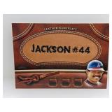 2011 Topps Leather Nameplate Reggie Jackson