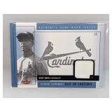 2005 Fleer Cut Of History Ozzie Smith Relic #CH-OS