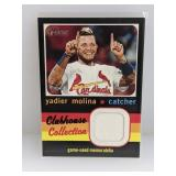 2020 Topps Heritage Clubhouse Yadier Molina Relic