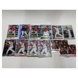 (12) Carter Kieboom RC Baseball Rookie Cards