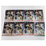 (8) Mike Yastrzemski RC Baseball Rookie Cards