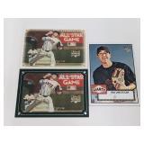 (3) Tim Lincecum RC Baseball Rookie Cards