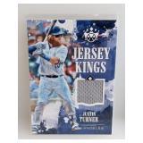 /99 2018 Diamond Jersey Kings Justin Turner Relic